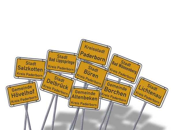 In die Stadt Salzkotten umziehen mit dem regionalen Umzugsunternehmen CNolte